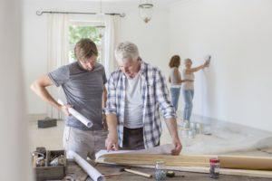 painting renovating