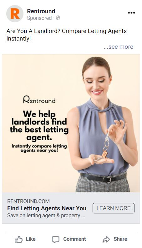 estate agent leads from rentround